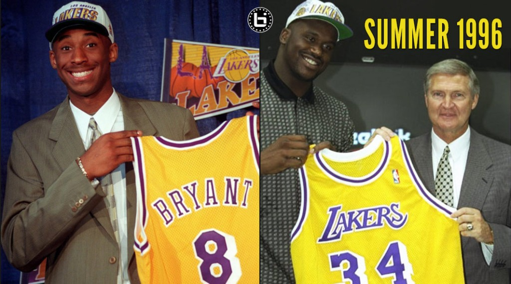 1996: The Best Summer Ever For The LA Lakers
