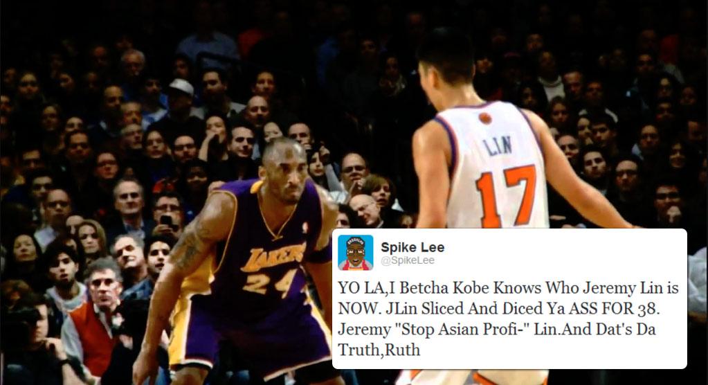 Jeremy Lin Scores Career-High 38 Points vs Kobe & Lakers