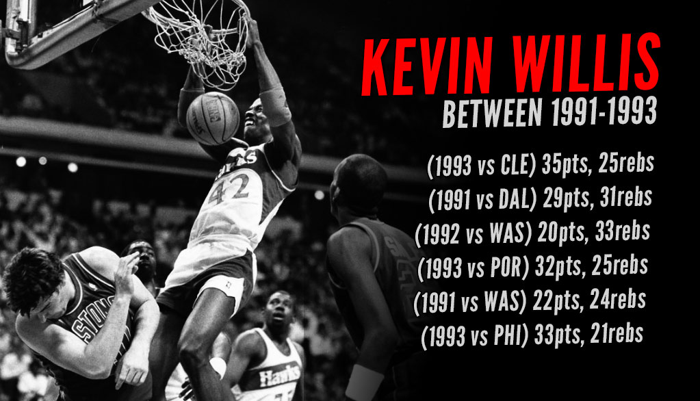 Unappreciated: Kevin Willis Was A Beast In The 90s