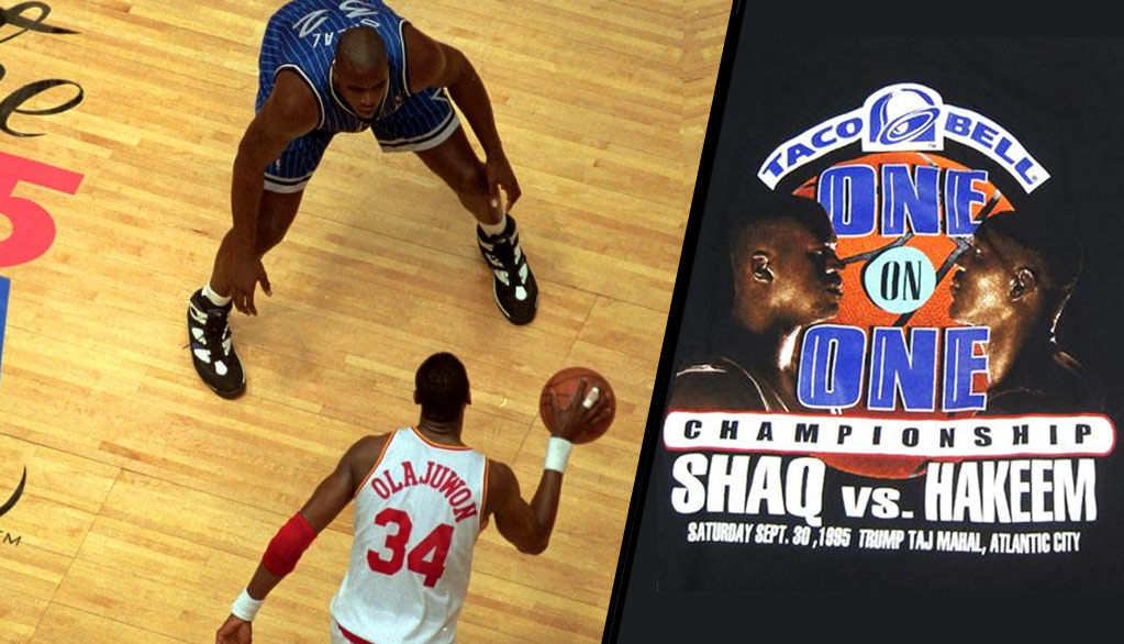 Dream vs. Diesel: The 1995 NBA Finals + the pay per view event that never happened