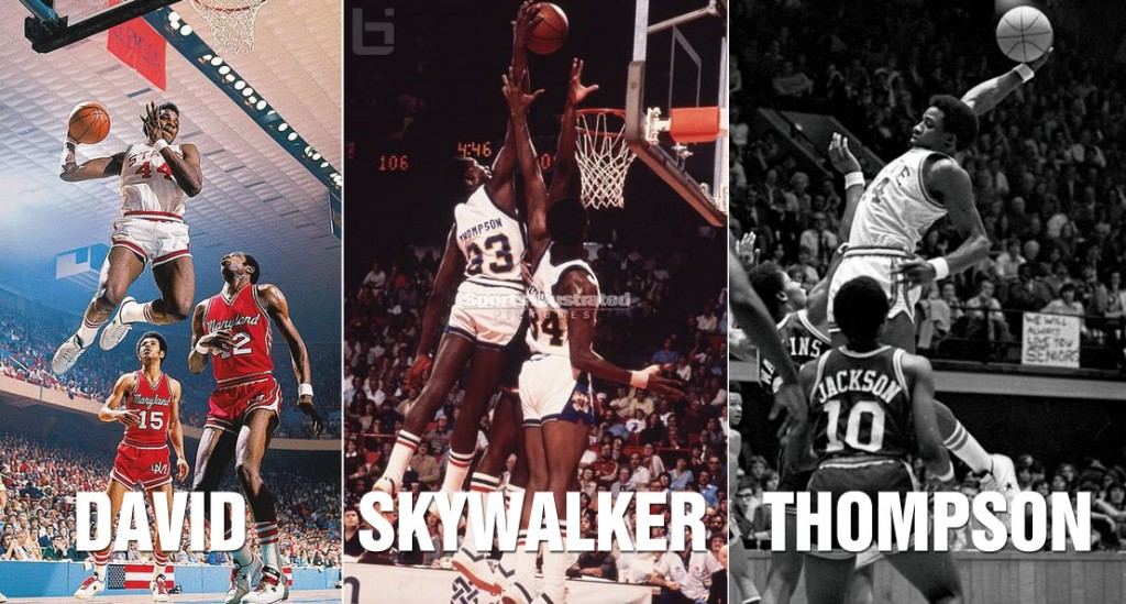 David Thompson | Top 10 Plays of MJ's Favorite Player