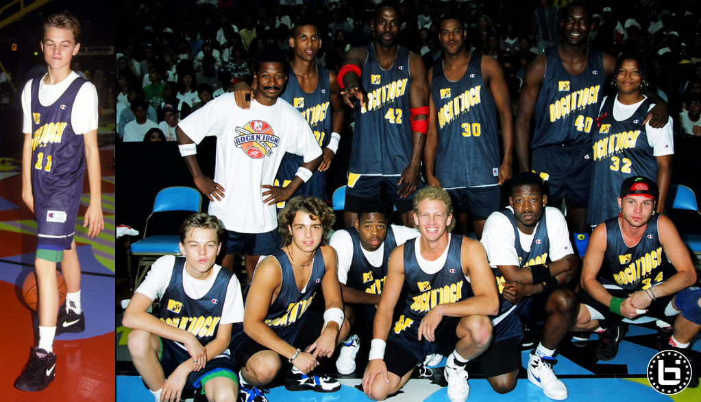 Shawn Kemp Remembers The Time He Dunked On Leonardo DiCaprio At A MTV Rock N' Jock Game
