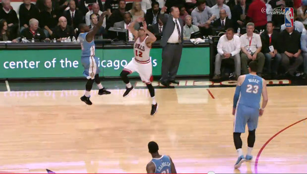 Nate Robinson's turnaround 40 footer tops the Top 10 Plays of the Night