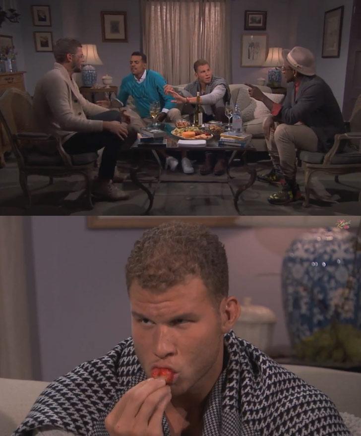 "Blake Griffin's book club w/ Shump, Chandler & Barnes discuss Nicolas Sparks' ""Best of Me"""