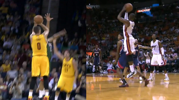 Better 4-Point Play: Kevin Love or Dwyane Wade?