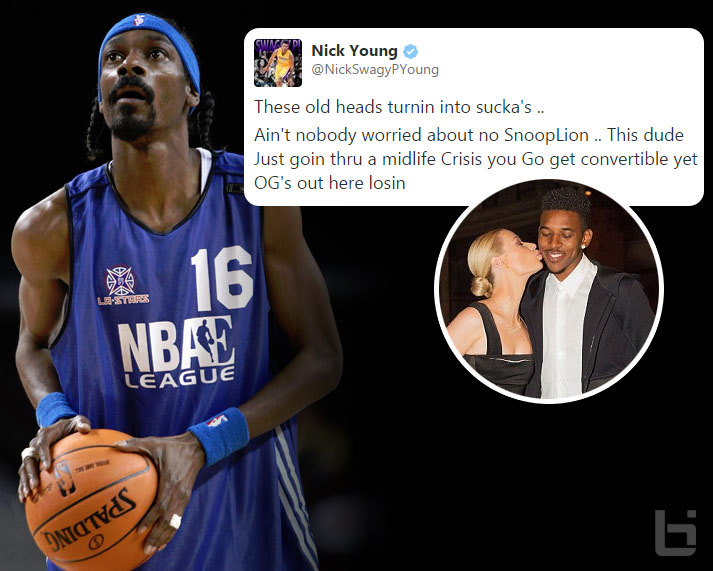 Nick Young defends Iggy Azalea by going off on Snoop Dogg