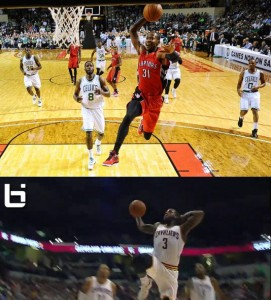 Better Breakaway Dunk: Dion Waiters Baby Mailman dunk -or- Terrence Ross