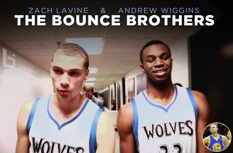 """Andrew Wiggins and Zach LaVine are """"The Bounce Brothers"""""""