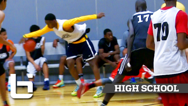 Matthew Coleman Drops Defender and Sinks Step-Back 3 at John Lucas Midwest Camp!