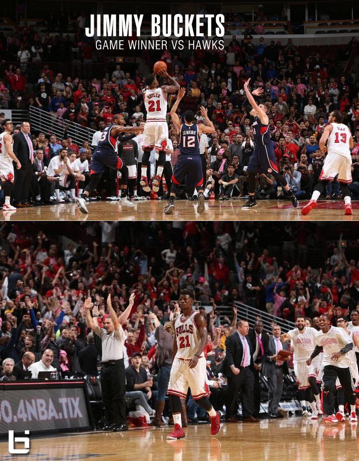 Jimmy Butler's 20 4th quarter points & game-winner -VS- Michael Jordan's Best Game Winners vs the Hawks