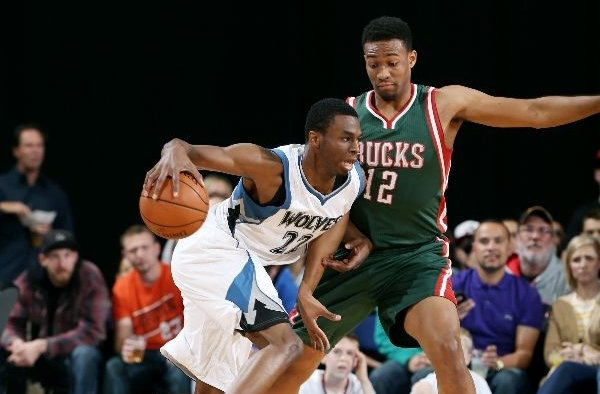 Jabari Parker's sick spin & dunk (that nobody saw) seals victory over Wiggins & TWolves!