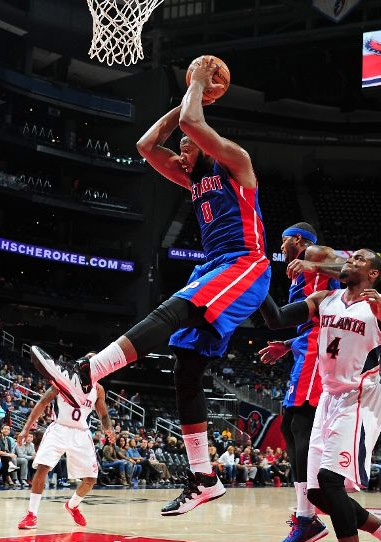 Andre Drummond dominates Hawks with 19pts, 17rebs & the block of the night
