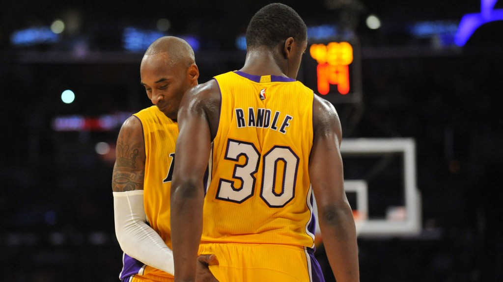 "Kobe's message to Julius Randle ""If you f**k this up, you're a really big idiot"""