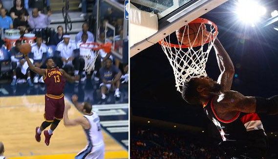 Oop of the night: Tristan Thompson -vs- Thomas Robinson