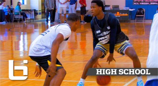 RJ Nembhard SHOWS OFF His SPRINGS At Pangos! Sick Highlights!