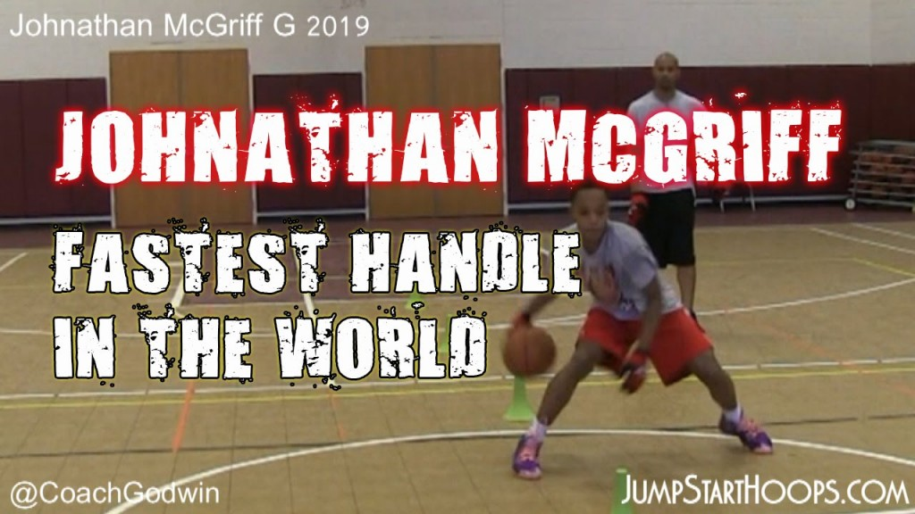 """13 year old Johnathan McGriff might have the """"fastest handles in the world"""""""
