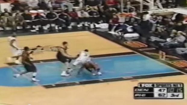 2001 Flashback: Allen Iverson breaks Voshon Lenard's ankles