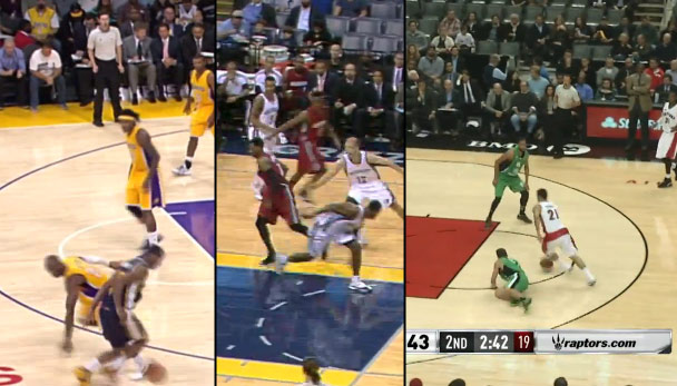 Kobe & Kyrie get crossed in the Top 10 Crossovers of the 2014 NBA Preseason