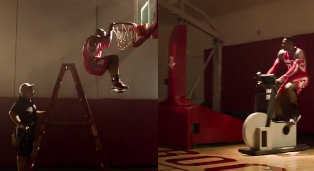 Meet Dwight Howard's body double in new Adidas commercial