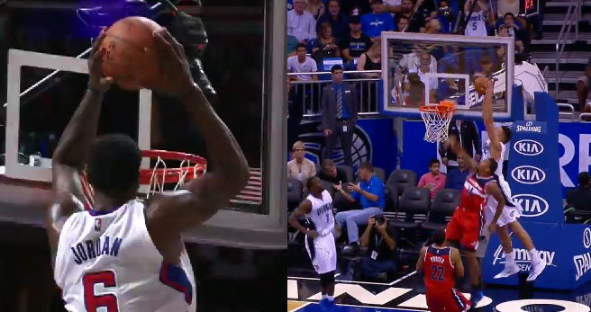 Alley-Oop Dunk of the Night: DeAndre, Tyson or Aaron Gordon?