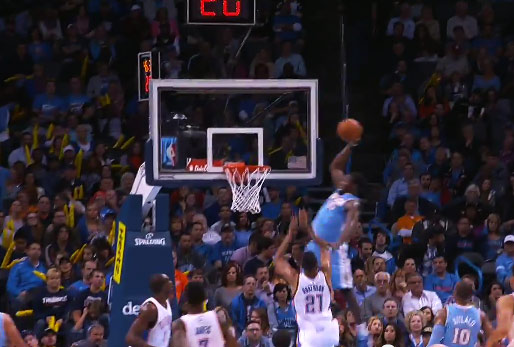Top 5 (or more) Dunks of the Night feat the Manimal & the Black Falcon
