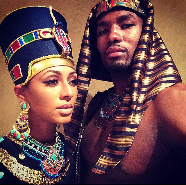 Serge Ibaka & Keri Hilson's Halloween Costumes: This Year vs Last Year