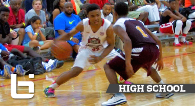10th Grader Point Guard TJ Starks Is The Truth!