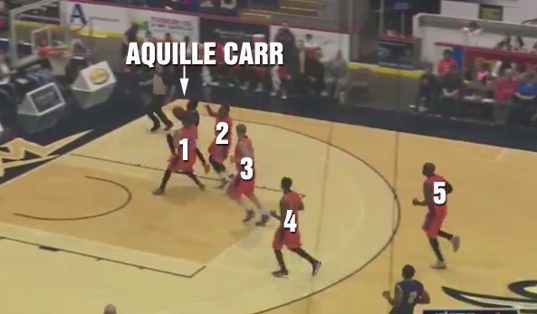 Aquille Carr scores 19 in his 2nd NBL game