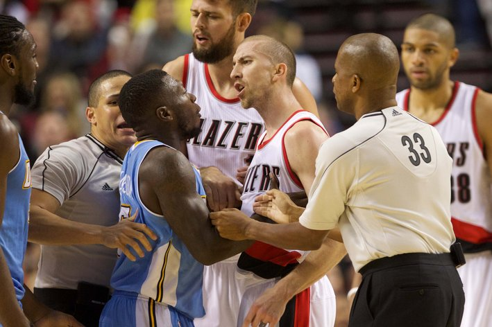 NBA: Denver Nuggets at Portland Trail Blazers