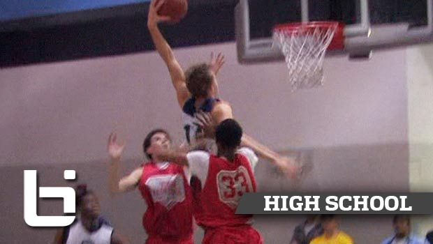 Ben Robertson & Daquan Lilly Both with VICIOUS Dunks at Phenom Jamboree