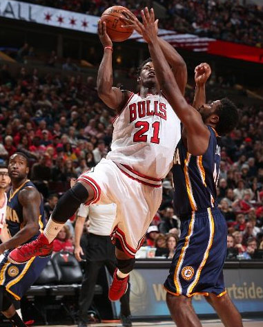 Jimmy Butler scores 32 in loss to the Pacers