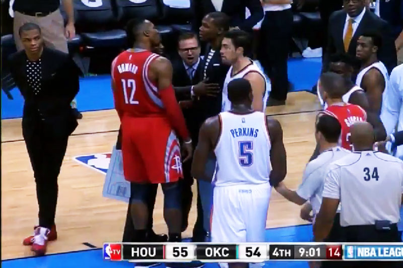 So Kevin Durant isn't a member of the Dwight Howard fan club either