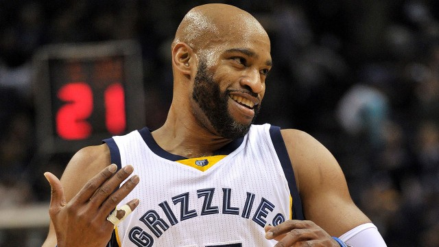 Vince Carter: Baby self-lob or did he lose it in the air before dunking it?