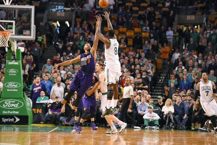 Jeff Green 28 points & 3 big dunks vs the Suns