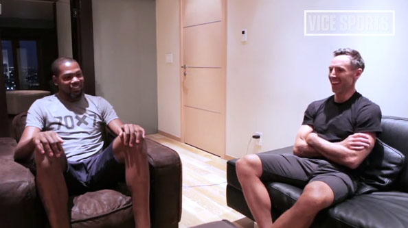 Steve Nash interviews Kevin Durant, talks obsession, dedication & sacrifice