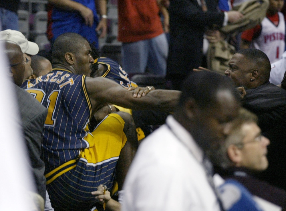 The Malice at the Palace happened 10 years ago today