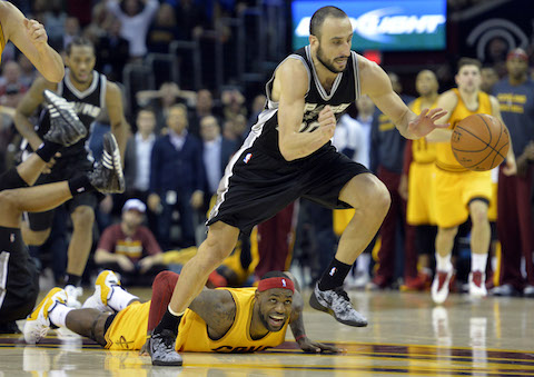 Spurs win as LeBron turns the ball over in final seconds, NBA removes it's video