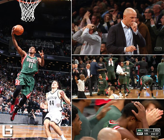 Shaqtin' a Fool legend Brandon Knight blows a wide-open-game-winning layup in OT! Finds redemption in 3OT