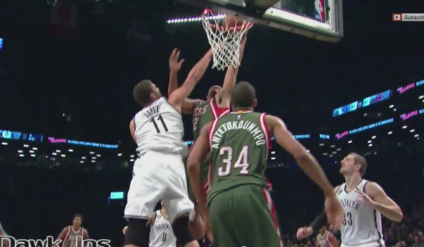 Jabari Parker scores season high 23 vs Nets, dunks on Lopez