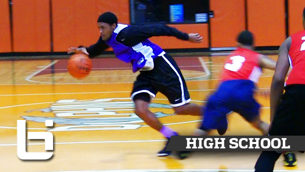 Marcus LoVett Jr. Has Ball on a String at Chicago High School Fall League!