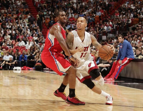 Shabazz Napier shows off his smooth handles against the Clippers, scores career-high 17