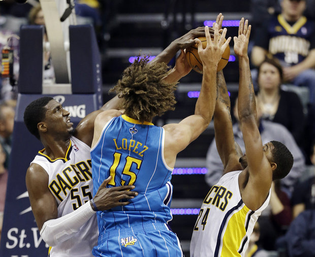 Flashback: Roy Hibbert's triple double (11blks) & Paul George's career-high 37 vs the Hornets