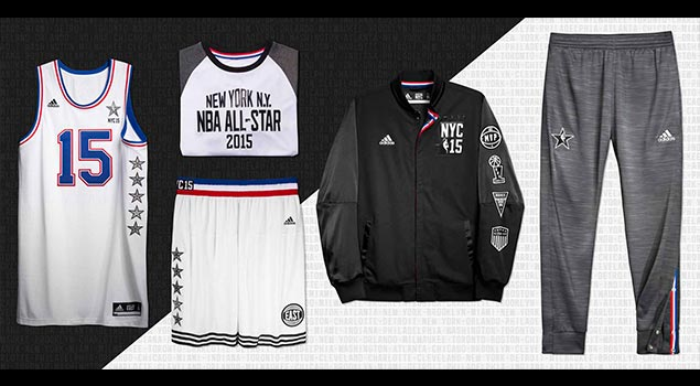 NBA 2015 All-Star Uniforms Released – NYC Tribute