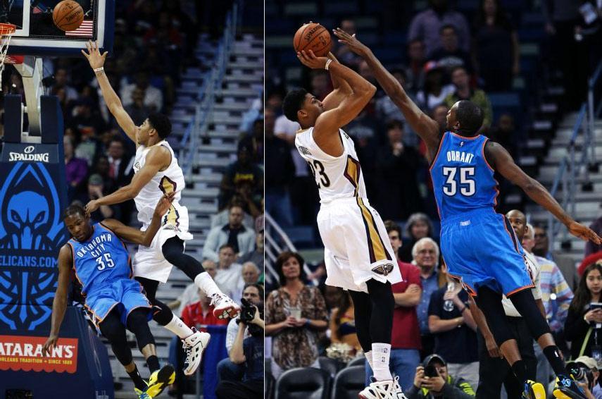 Tyreke Evans & Anthony Davis ruin Kevin Durant's return