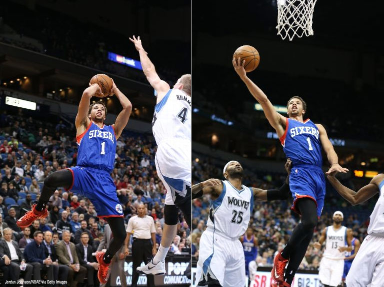 Michael Carter-Williams messed around & got a Win and almost a triple double!