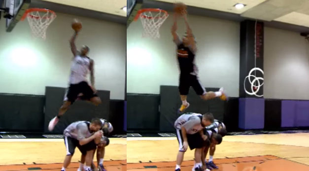 Gerald Green & Archie Goodwin competed in a crazy private dunk contest