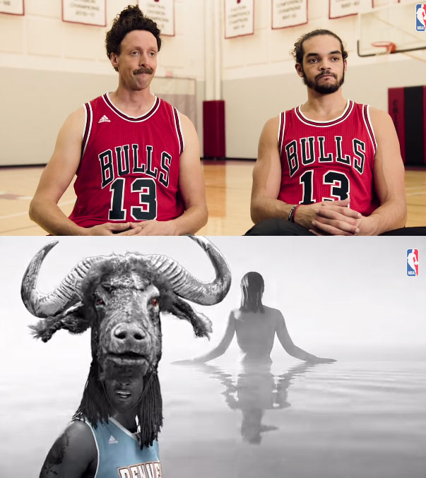 Meet Joakim Noah & Kenneth Faried's body doubles