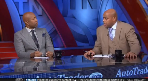 """Charles Barkley discusses Ferguson on Inside the NBA, """"some people are going to agree with me & some people are going to kiss my a$$"""""""