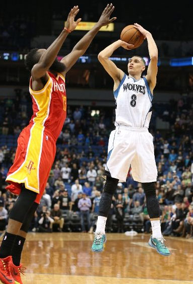 Zach LaVine 17 points vs the Rockets
