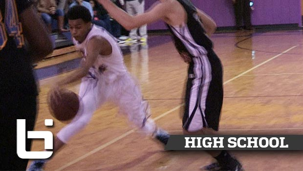 Jalen Harris Hits Defender with Shammgod then Hammers It!